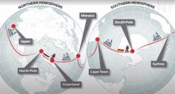Exploring the Limits - The Pole2Pole Expedition Circumnavigating the Globe