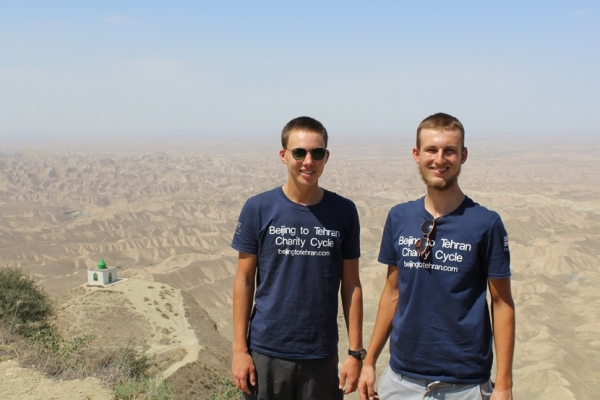 Cycling the Silk Road:  10,000 km from Beijing to Tehran