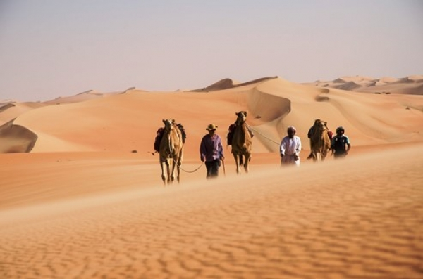 Crossing the Empty Quarter of Arabia by Camel