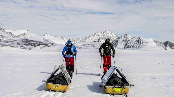 Father and son team to the South Pole: Revolutionising polar expeditions using clean energy