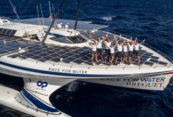 "Field Trip to visit the ""Race for Water"" Catamaran"